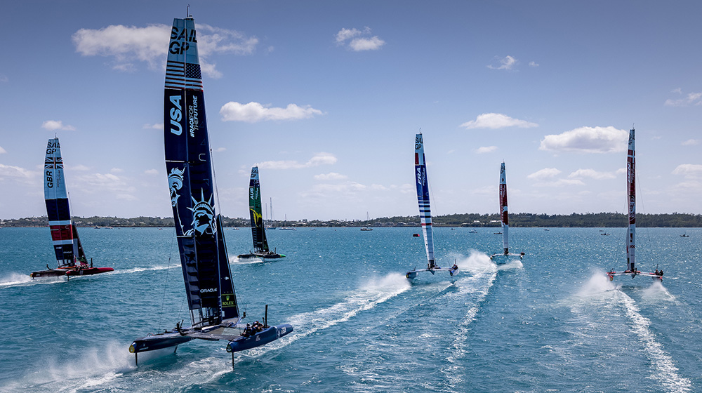 The SailGP competition sets sail in 2 days