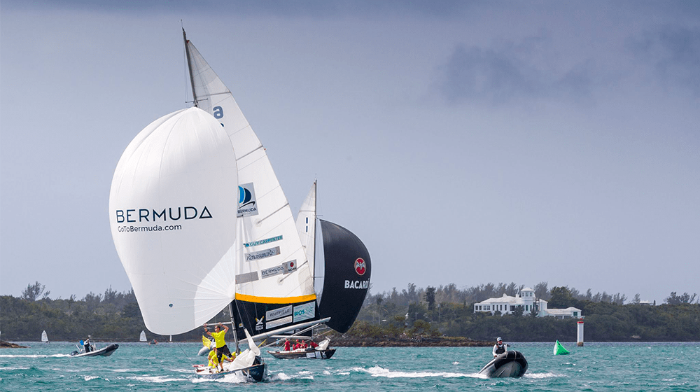 70th Bermuda Gold Cup, 2020 Open Match Racing Worlds - Day 4