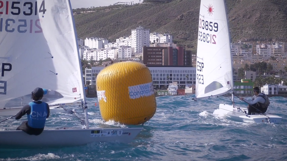 Olympic Sailing Week in Gran Canaria