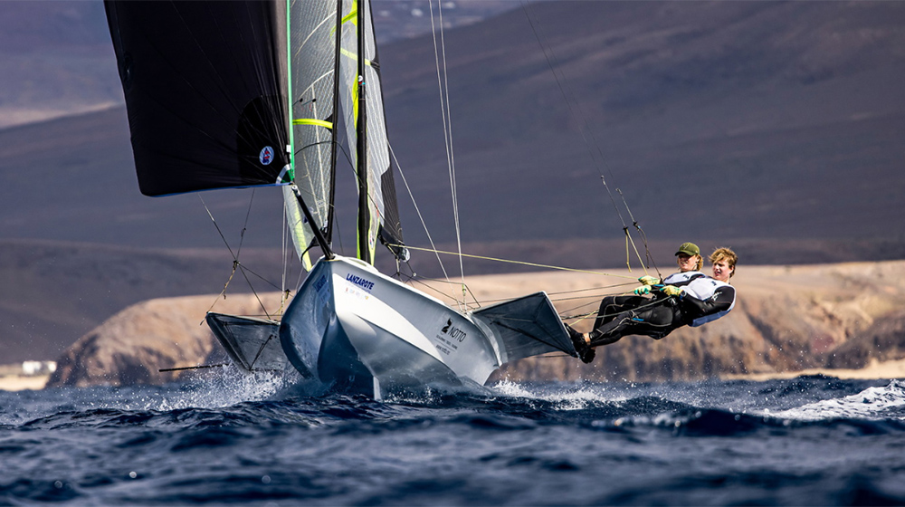 Lanzarote: the scenery for Olympic sailing classes