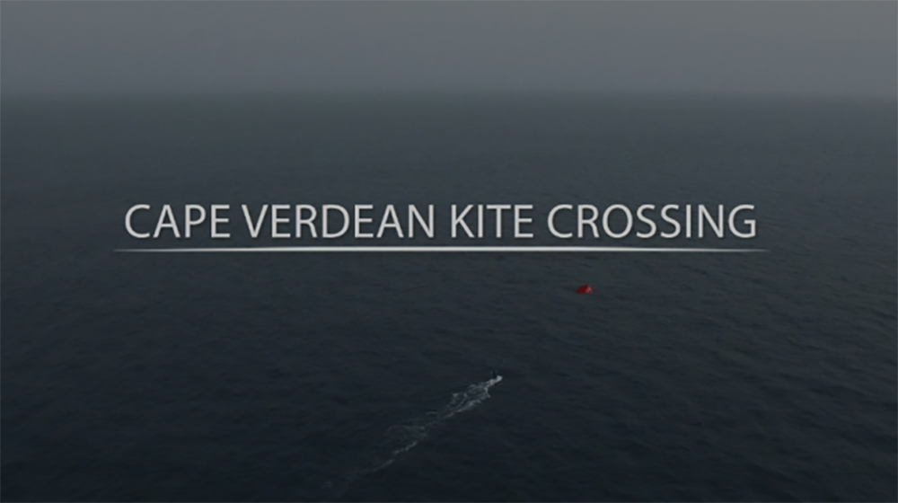Cape Verdean Kite Crossing