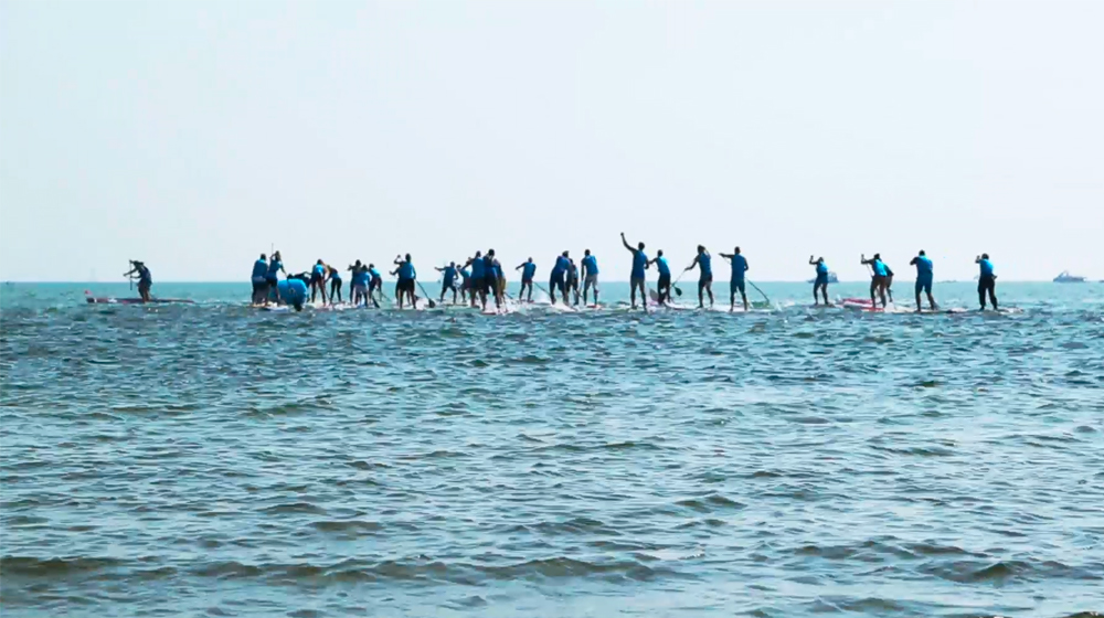 Baltic Sea Goes Sup